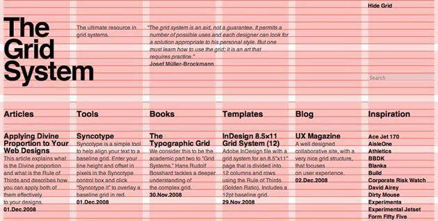 Адаптивная верстка сайтов | Макет на основе сетки