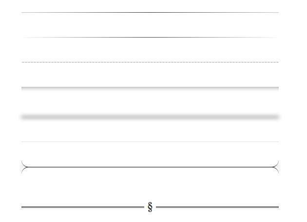 Простые CSS стили для разделительных линий на сайт