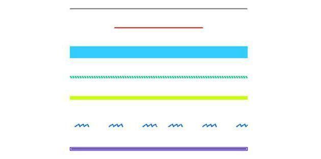 Стилизация разделительных линий для сайта на CSS