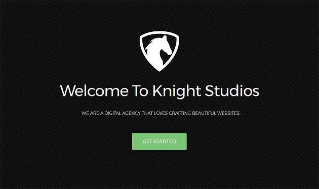 Knight — бесплатный шаблон одностраничного сайта 2017 на основе Bootstrap