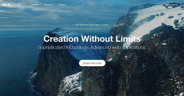 Новинка от Wix — Wix Code — Создание сайта без ограничений