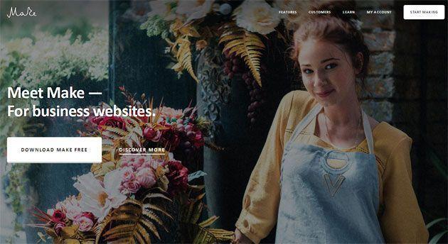 Make — мощный настраиваемый шаблон WordPress для бизнес-сайтов