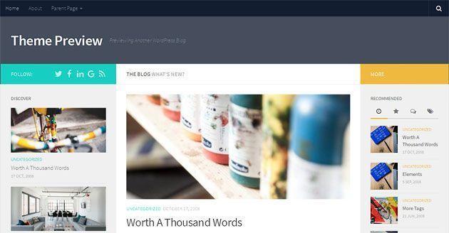 Hueman — самый популярный и универсальный современный шаблон WordPress