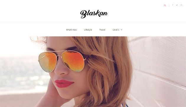Blaskan — элегантный шаблон WordPress для писателей