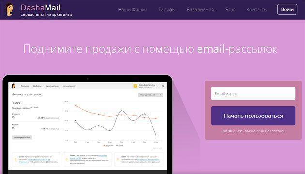Обзор сервиса email-рассылки писем DashaMail