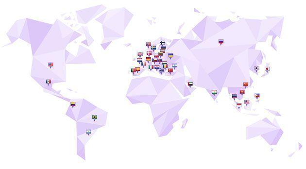 Офисы Hostinger по всему миру