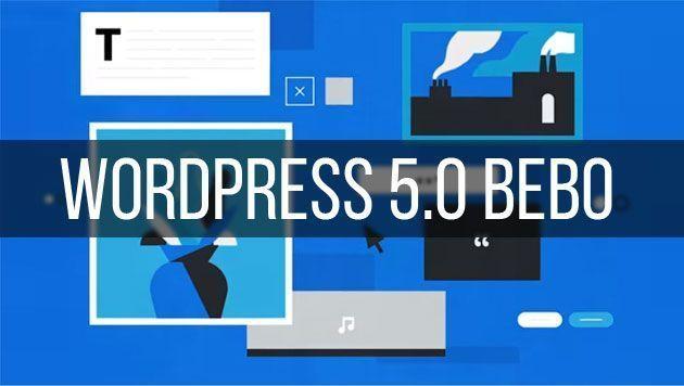WordPress 5.0 с новым модульным редактором Gutenberg и темой Twenty Nineteen